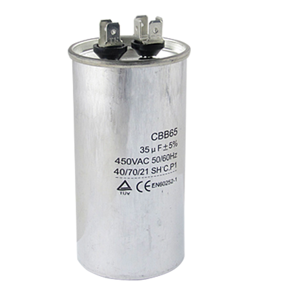 Air Conditioner 450VAC 35uF Metallized Polypropylene Film Motor Capacitor CBB65