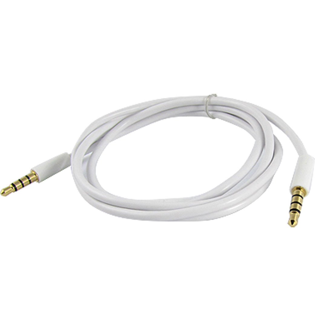 1M Gold Tone Plated 3.5mm Connector Male to Male Audio Extension Cable