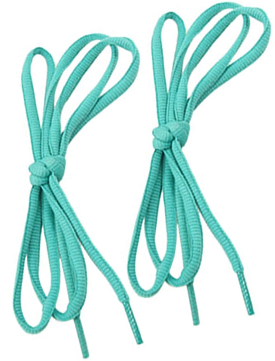 1 Pair Teal Color Sneakers Trainers Round Shoe Laces Strings Shoelaces