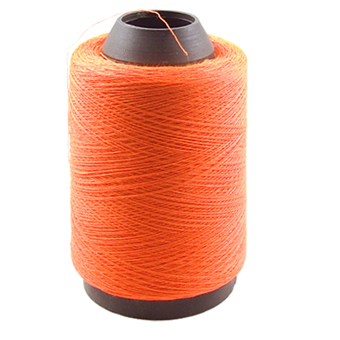 Tailor Home Hand Machine Embroidery Thread Spool Orange Red