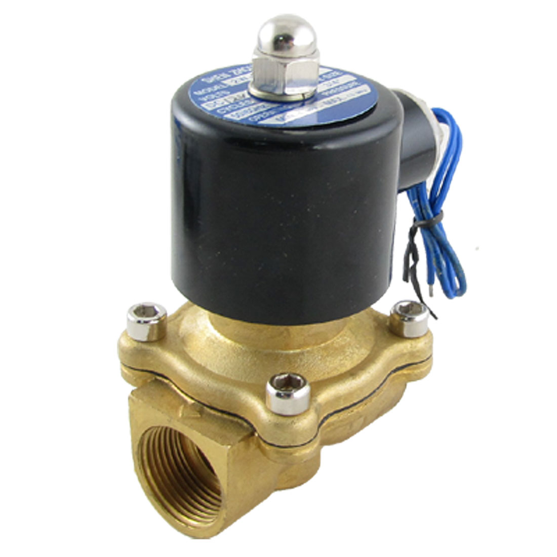 "2W-200-20 Direct Acting 3/4"" DC 12V Water Oil Solenoid Valve"