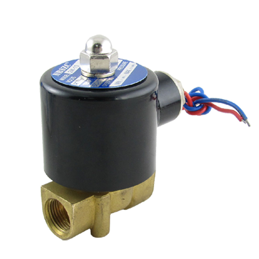 "AC 110V 3/8"" Direct Acting Water Gas Electric Solenoid Valve"