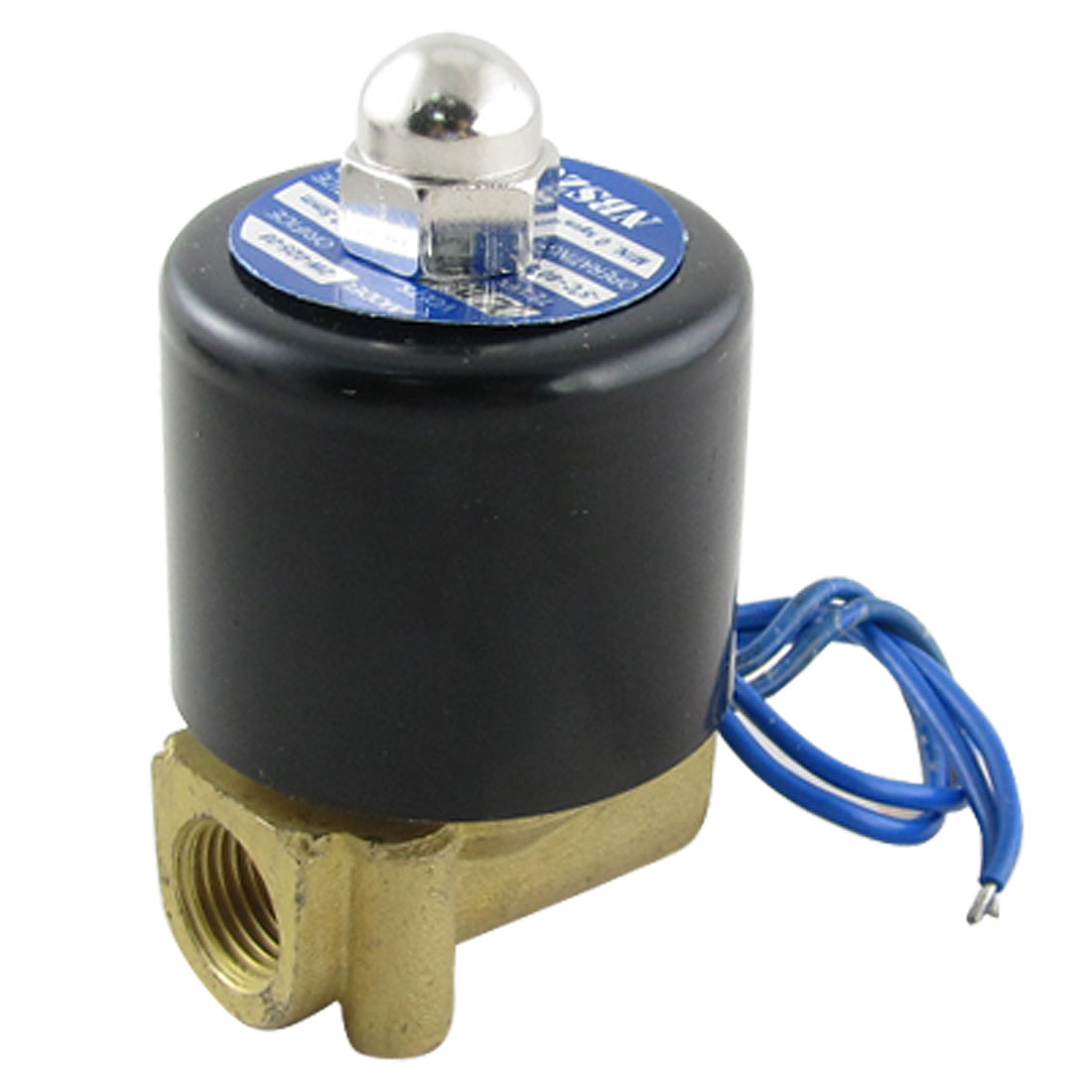 "1/4"" DC 12V 2 Way Water Pneumatic Electric Solenoid Valve"