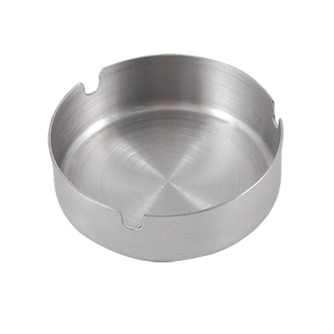 "3.1"" Diameter Round Stainless Steel Cigarette Holder Ashtray"