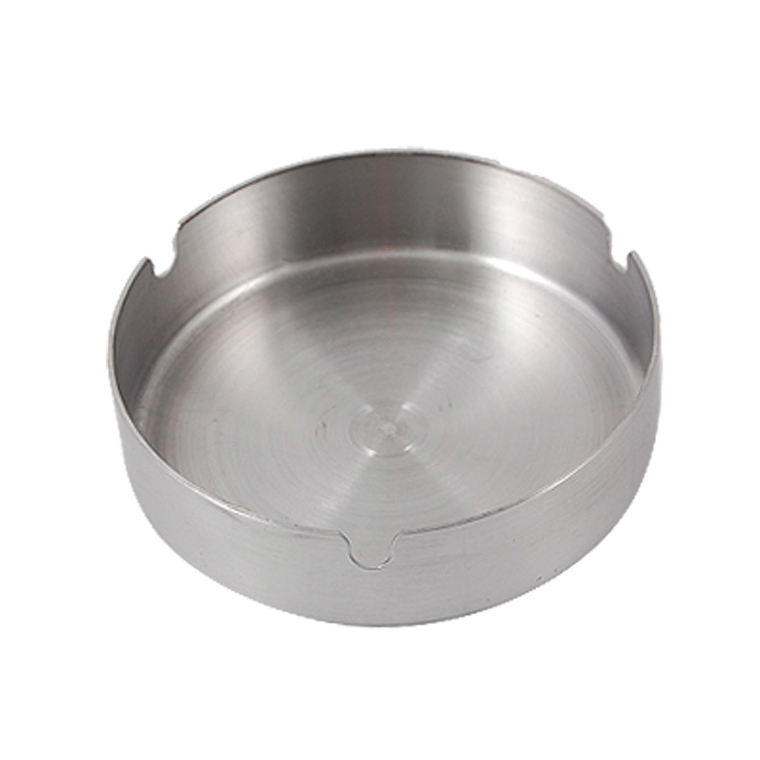 Tray Shaped Stainless Steel Cigaretter Holder Cigar Ashtray 3.9""