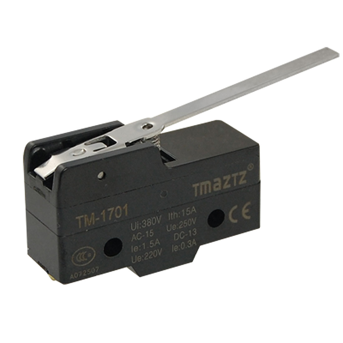 TM1701 Long Hinge Lever Actuator Momentary Micro Switch