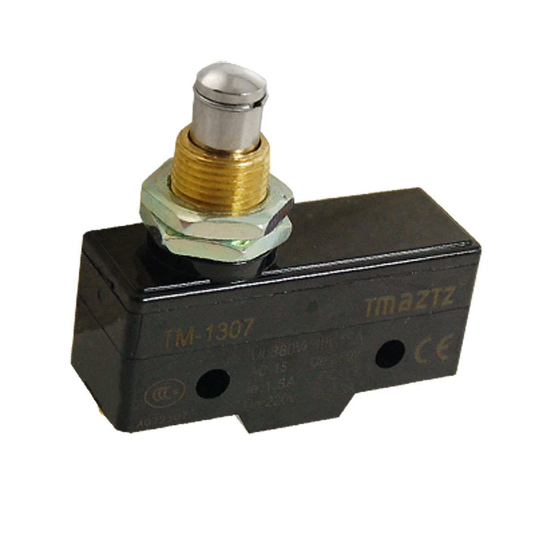 Plunger Actuator Panel Mount Momentary Micro Switch TM1307