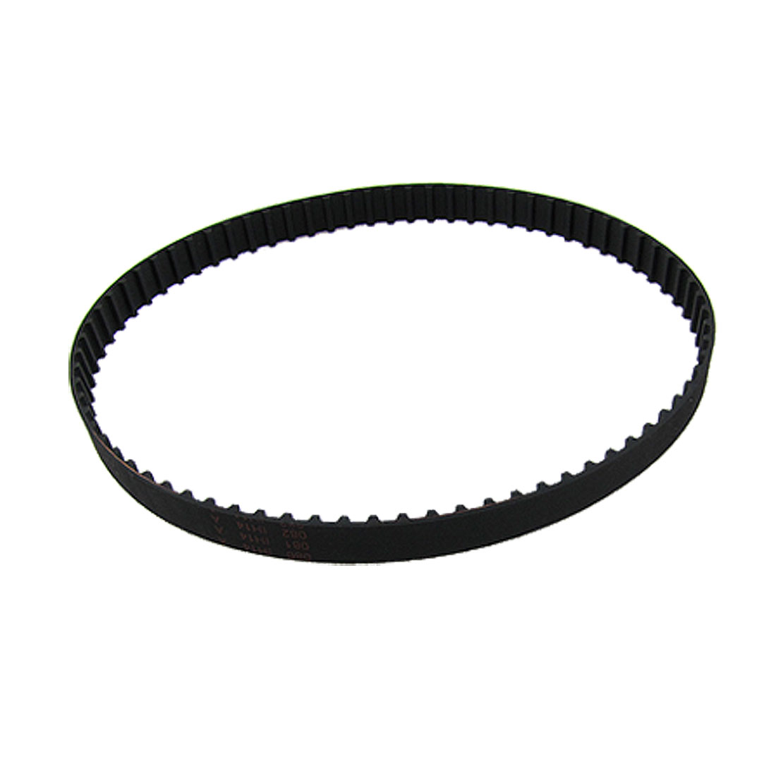 150XL 10mm Width 75 Teeth Black Rubber PU Timing Synchronous Belt