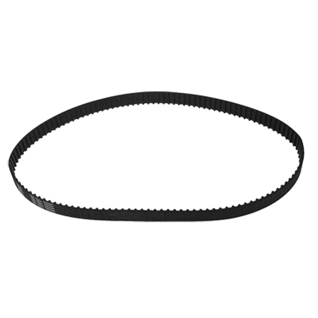 "1/5"" Pitch 9/16"" Wide 125 Teeth Rubber PU 250XL Timing Belt Black"