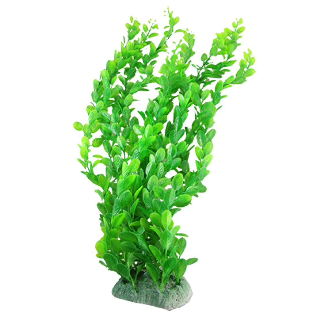 Plant Decor Plastic Green Grass for Fish Tank Aquarium