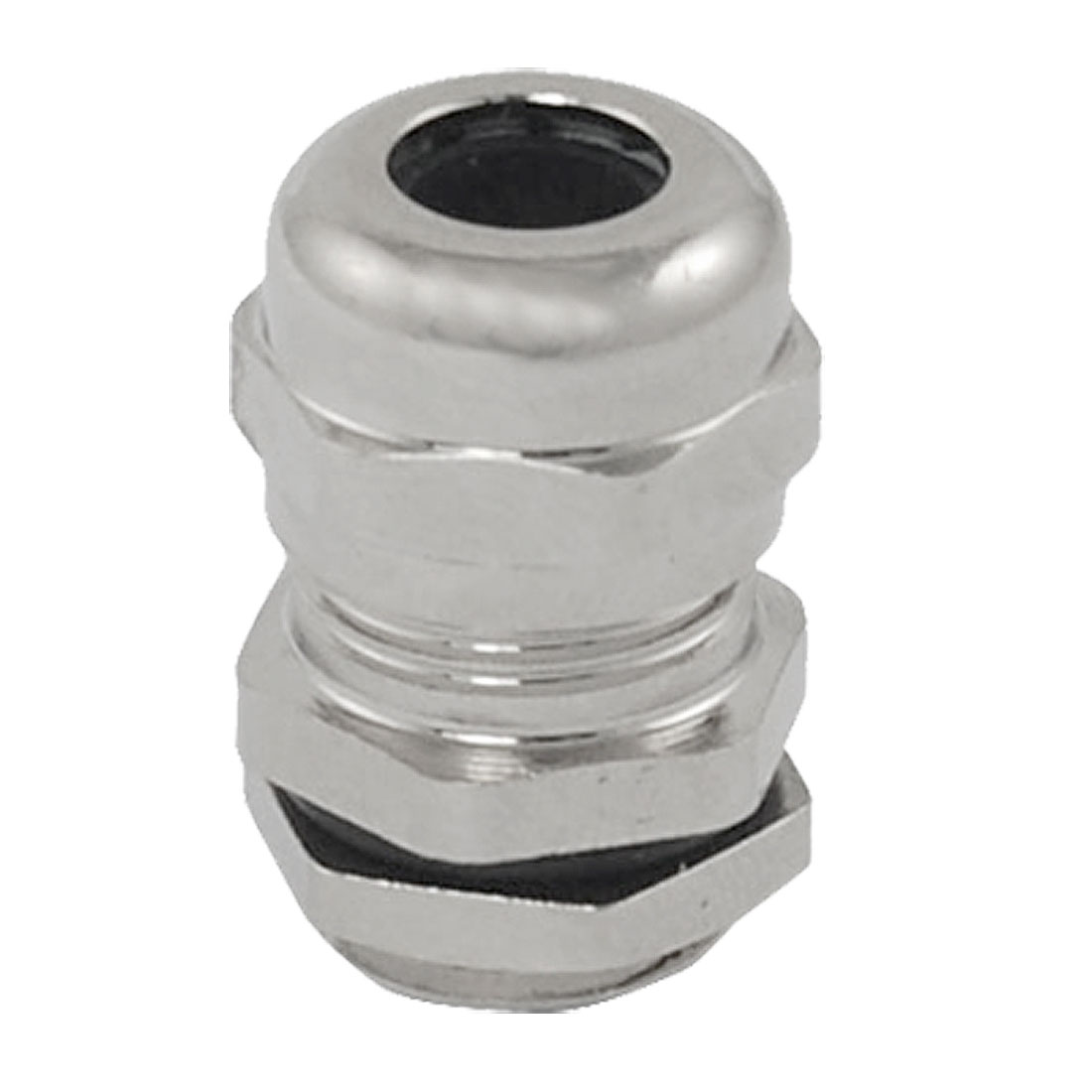 Stainless Steel 3.0-6.5mm M12 Cable Gland Connector with Locknut