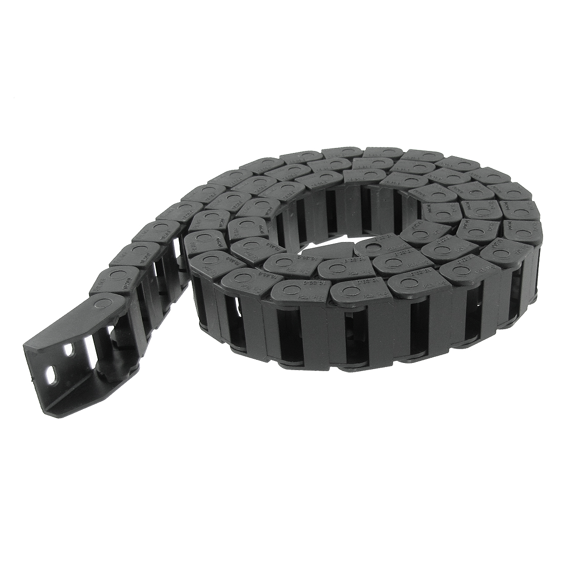 "Plastic 41 3/10"" Wire Cable Carrier Drag Chain 10 x 20mm"