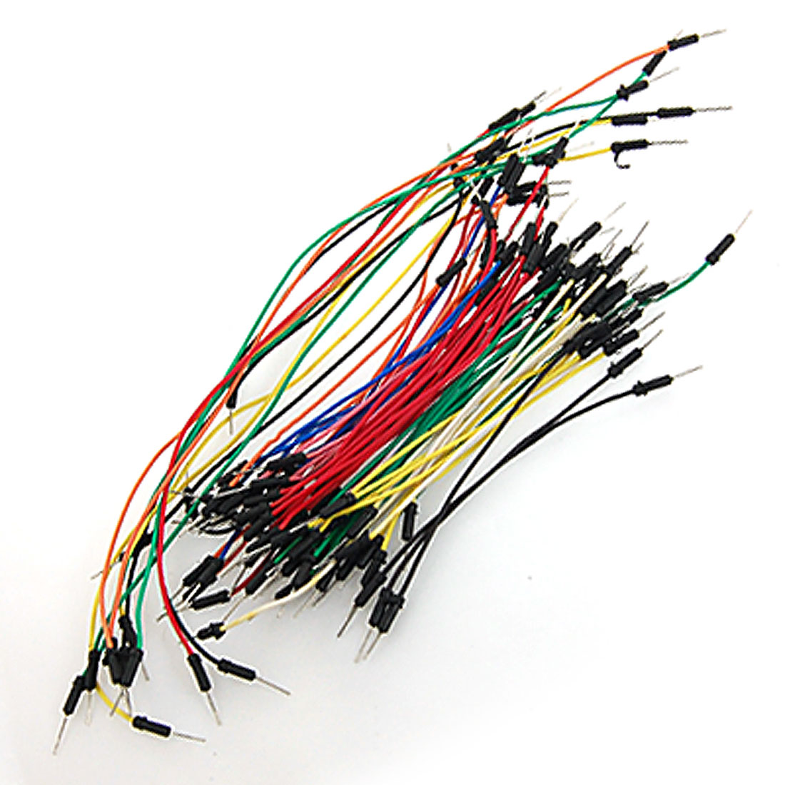 65 Pcs Assorted Length Multicolored Flexible Solderless Breadboard Jumper Wires