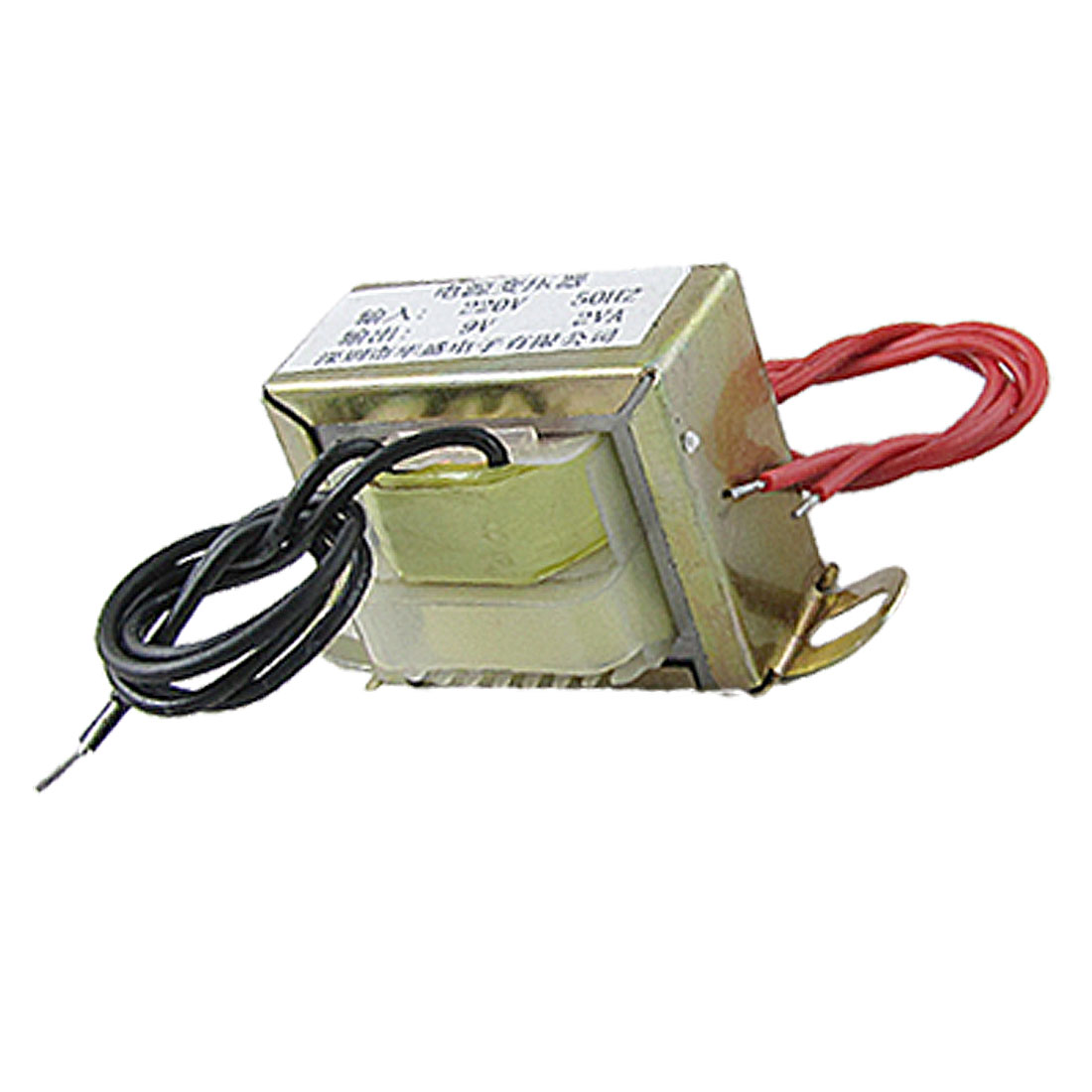 9V 2VA Output EI Core Vertical Mount Power Transformer