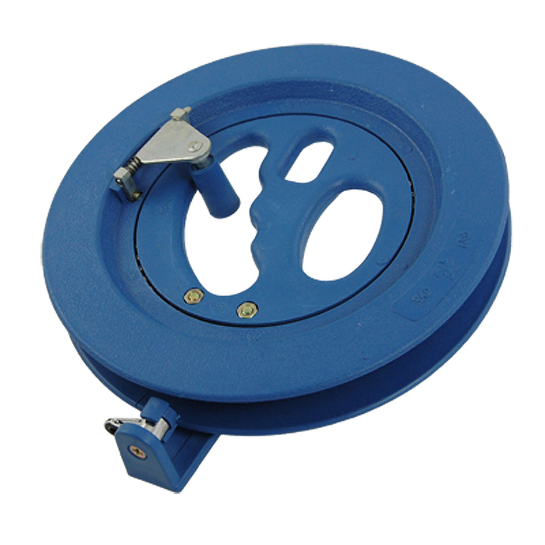 Outdoor Ballbearing Plastic Kite Flying Line Winding Reel Grip Winder Tools Blue
