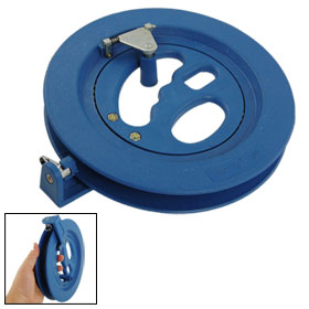 Outdoor Ballbearing Blue Plastic Kite Line Reel Winder