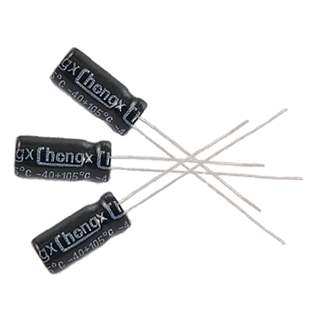 10 x 2.2uF 50V 105C Radial Electrolytic Capacitor 5x11mm
