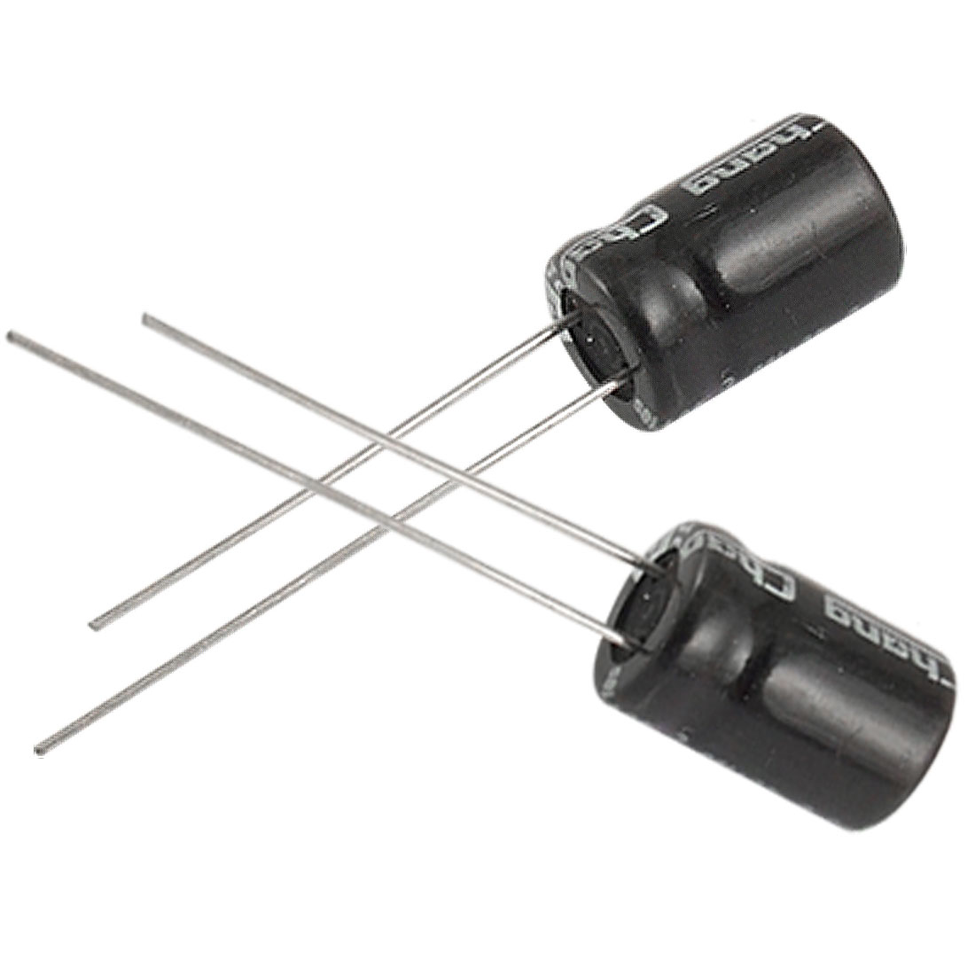 10 x 470uF 16V 105C Radial Electrolytic Capacitor 8x12mm