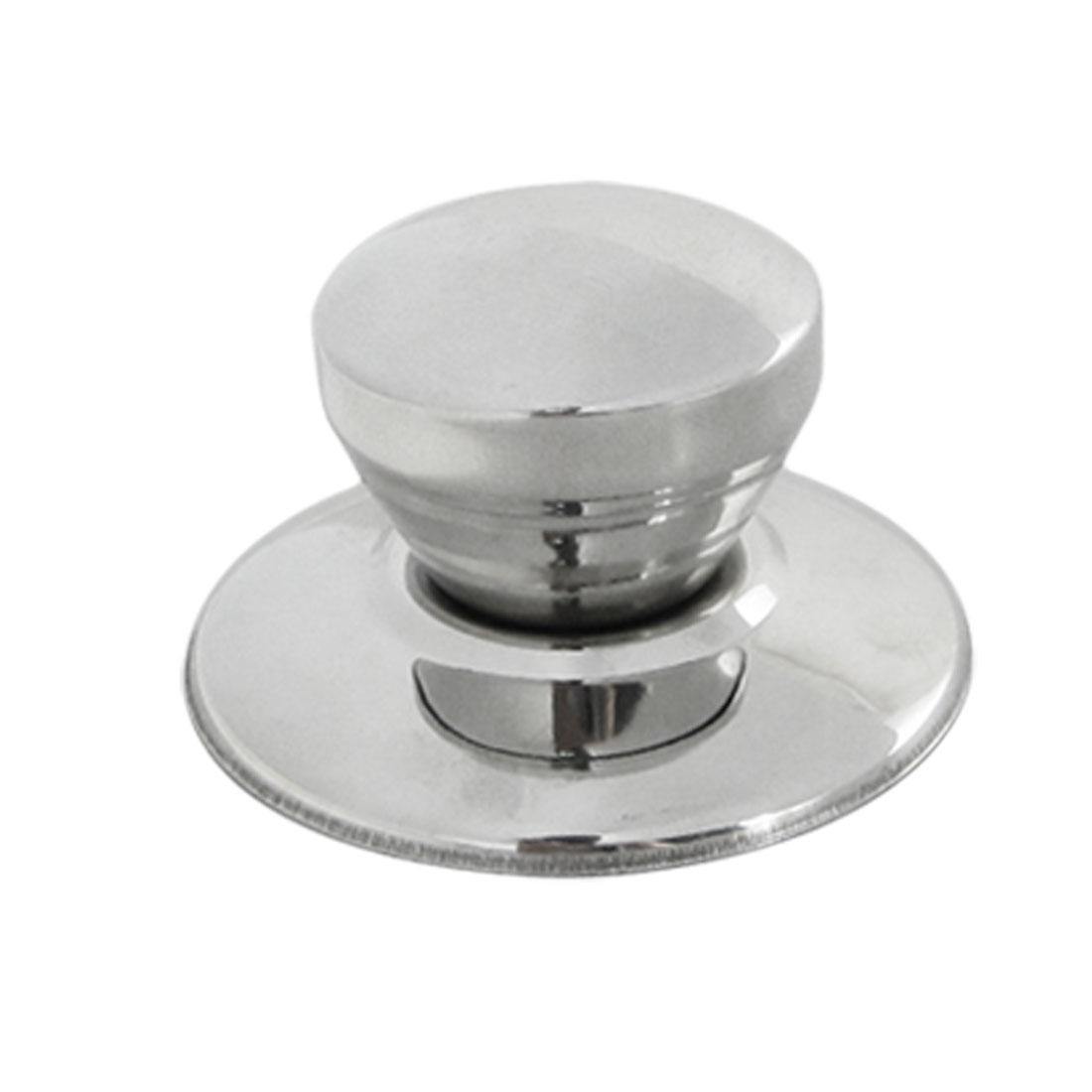 Silver Tone Replacement Cookware Pot Pan Lid Knob