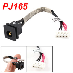 PJ165 2.5mm DC Plug Power Jack 4 Pins Cable for TOSHIBA Laptops