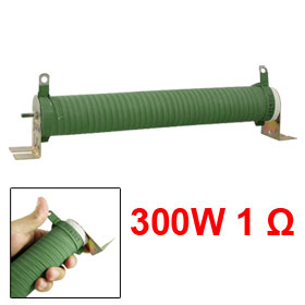 Ceramic Tube Fixed Wire Wound Resistor 1R 1 Ohm 5% 300W