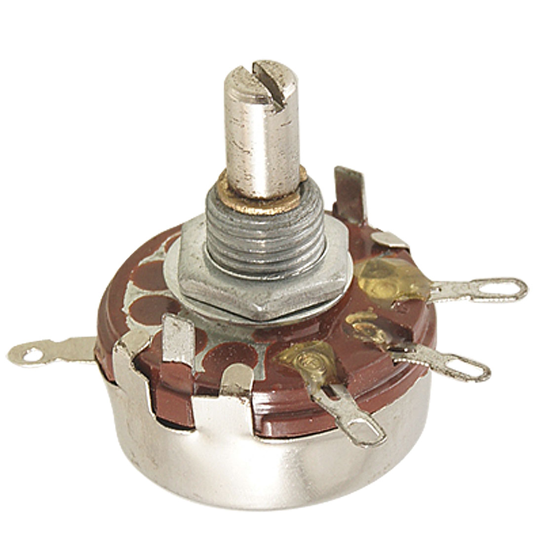 WH118-I 47K ohm 2W Carbon Composition Rotary Taper Potentiometer