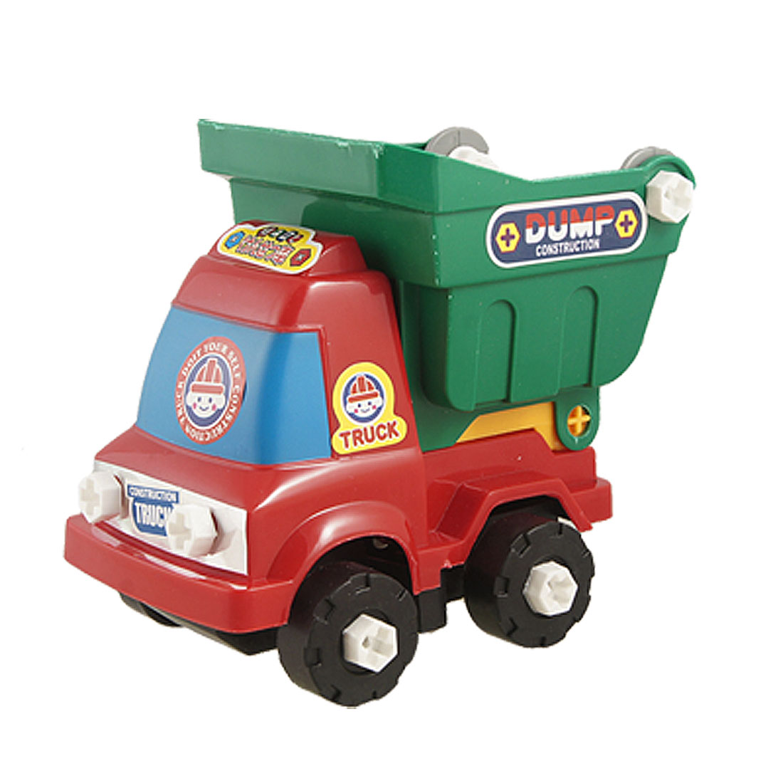 Children Intelligence Detachable Assemble Engineering Truck Toy