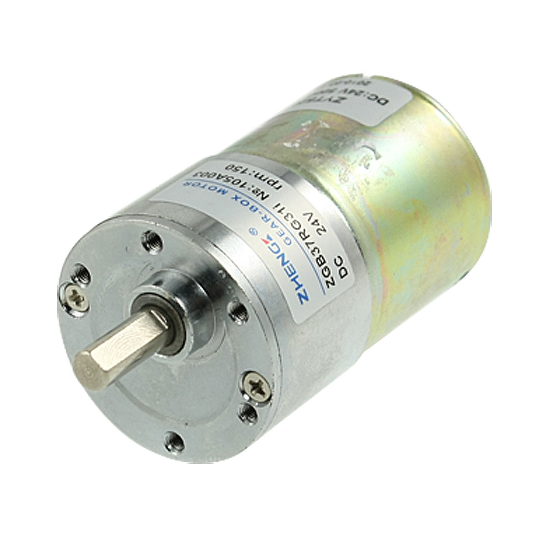 Uxcell(R) 150RPM 10.8kg.cm 24V 0.33A Speed Reducing DC Geared Motor