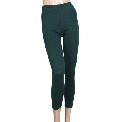 Woman Elastic Waist Full Length Hugging Leggings Skinny Pants XS