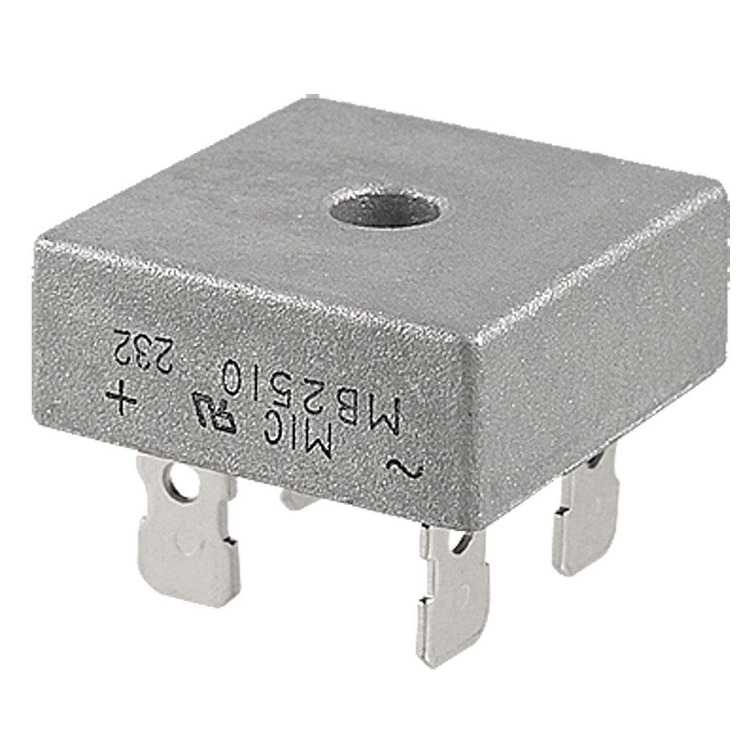 MB2510 Half-Wave Single Phase Silicon Bridge Rectifier 1000V 25A