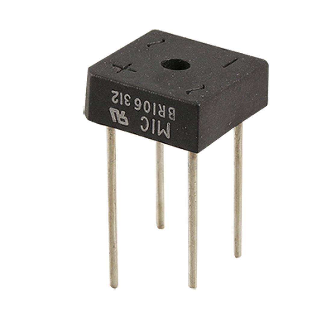 600V 10A Single Phase Silicon Bridge Rectifier BR106