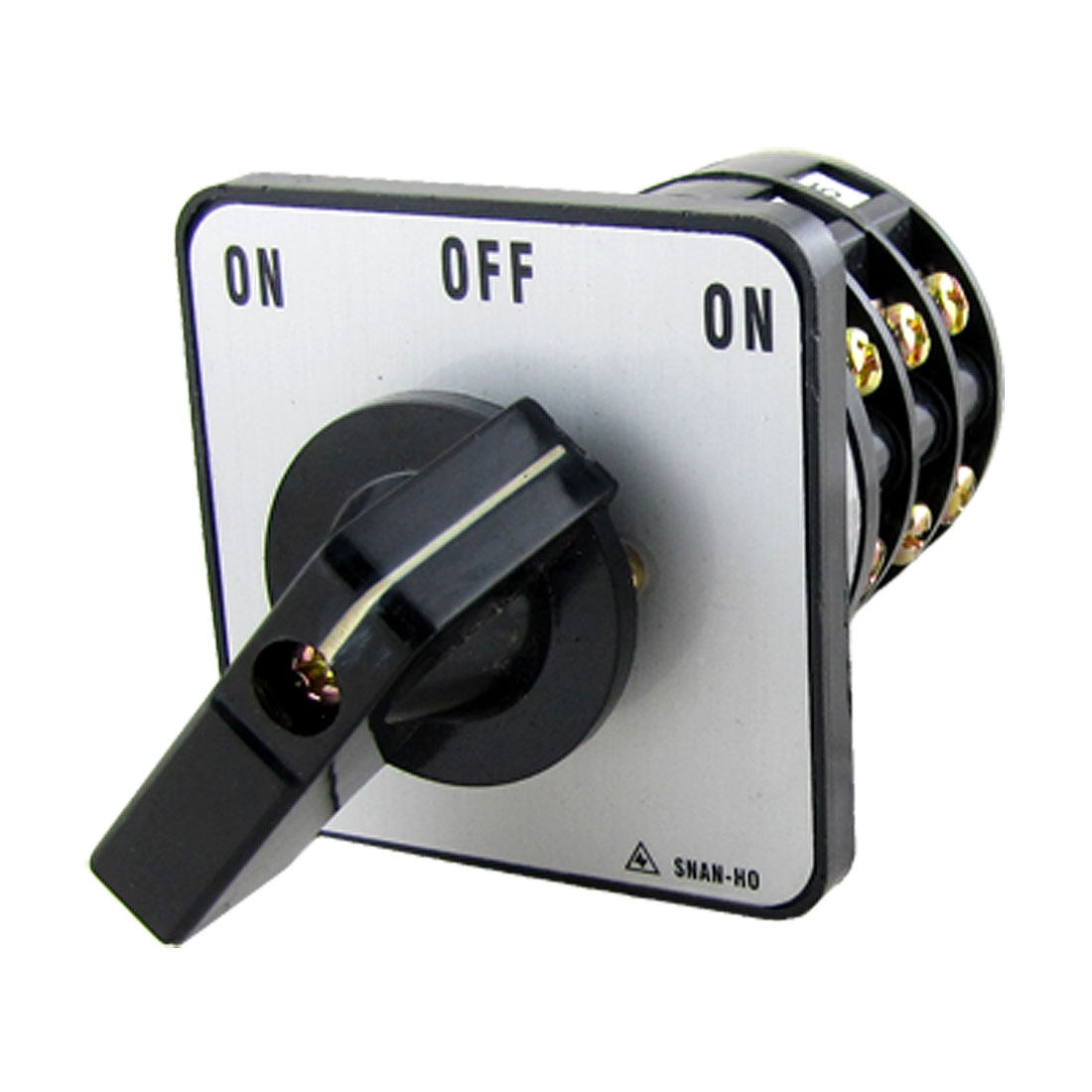 Electric ON-OFF-ON Position Rotary Cam Changeover Switch