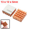 2 Pcs RHS-03 Copper Heat Sink for DDR DDR2 DDR3 RAM Memory Cooler
