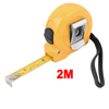 Retractable 2M 6FT Dual Scale Steel Measuring Tape