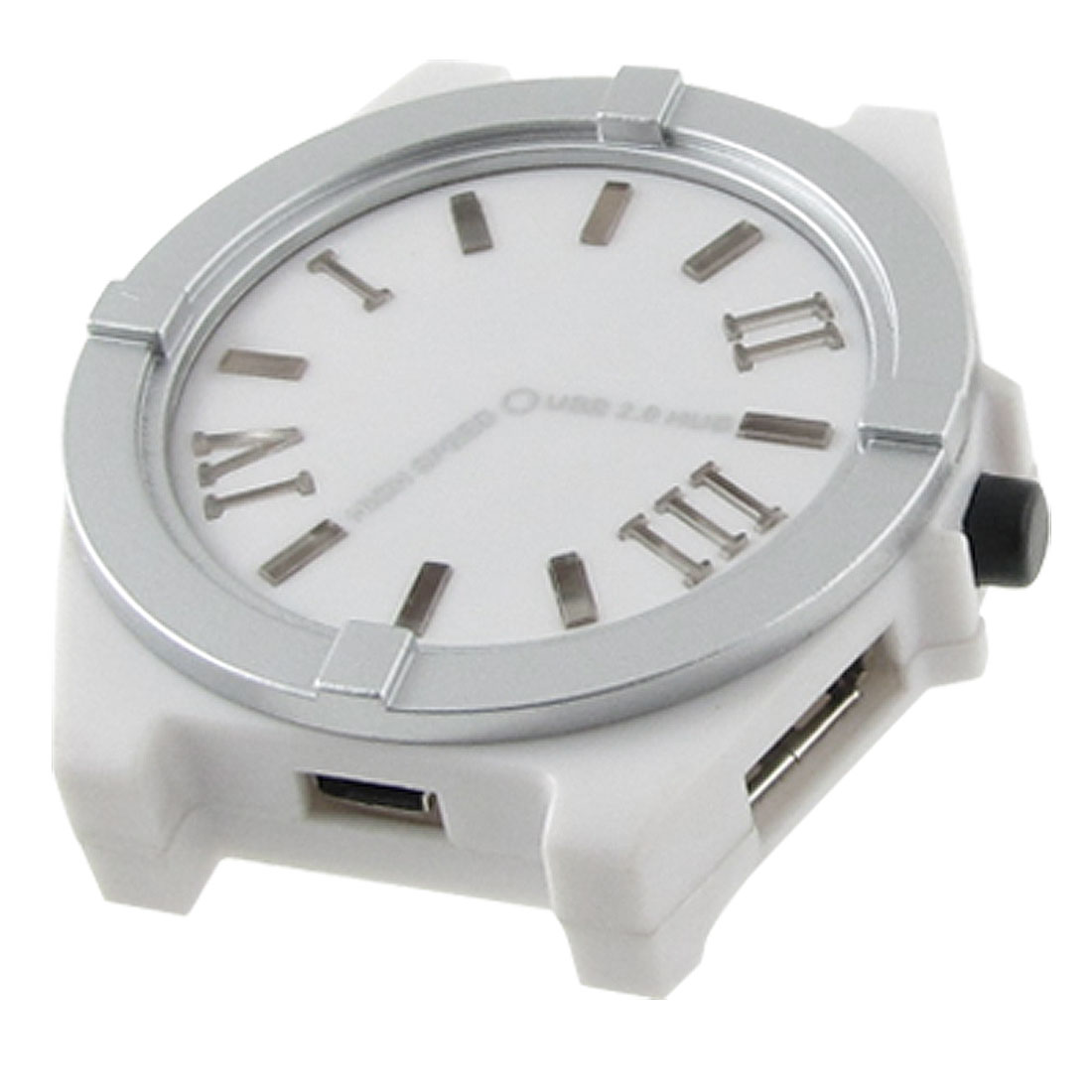 Computer Notebook Plastic Watch Shape 4 Ports USB 2.0 Hubs