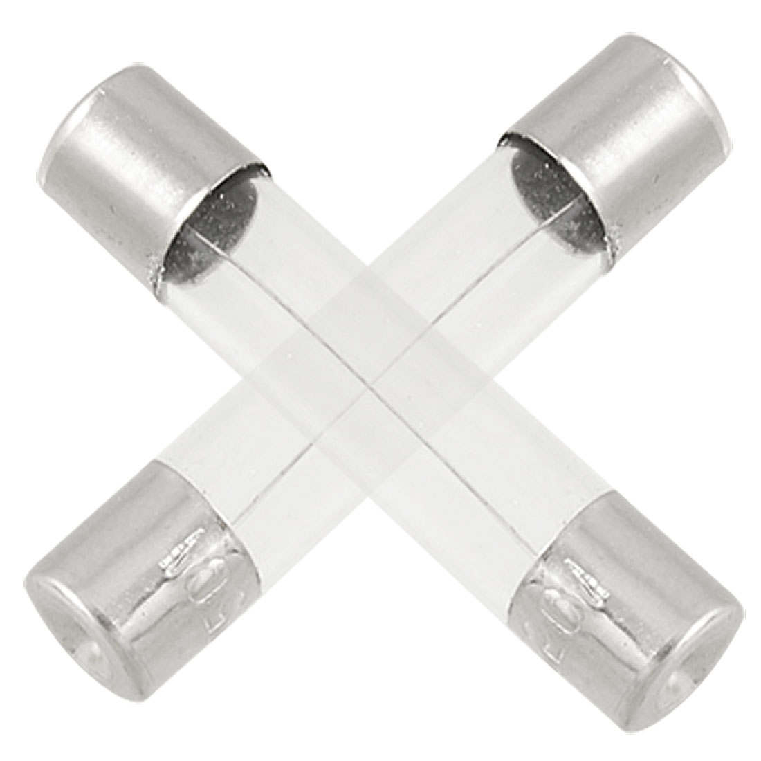 100 x 250A 3A 6 x 30mm Cylinder Glass Tube Fuses Fast Blow