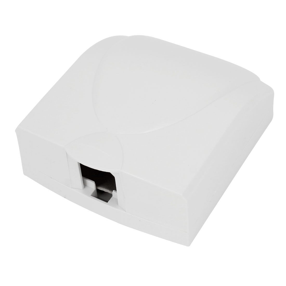 Bathroom Wall Switch Protector Flip Cap White Plastic Waterproof Cover