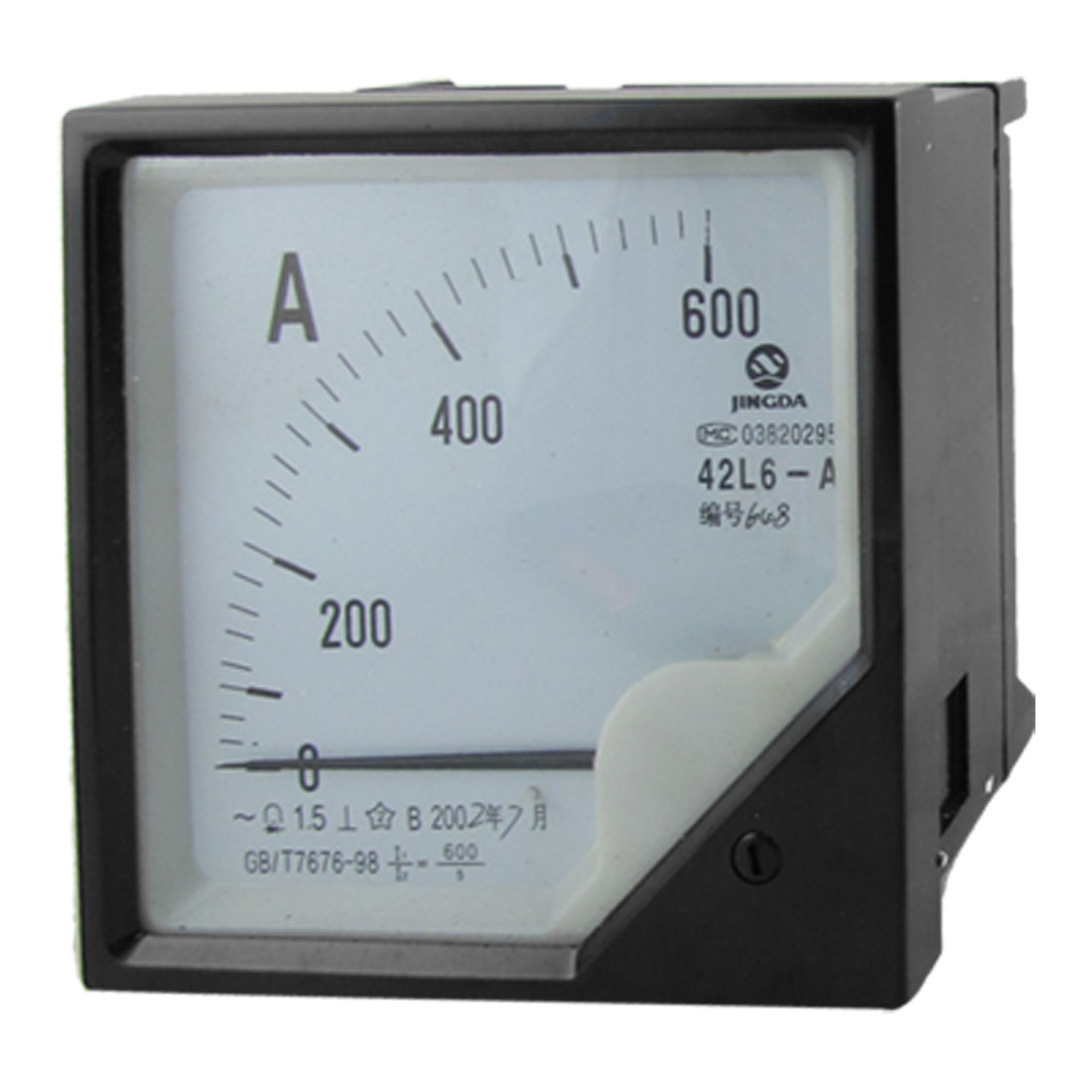 AC 0-600A 1.5 Accuracy Analog Ampere Panel Meter Gauge