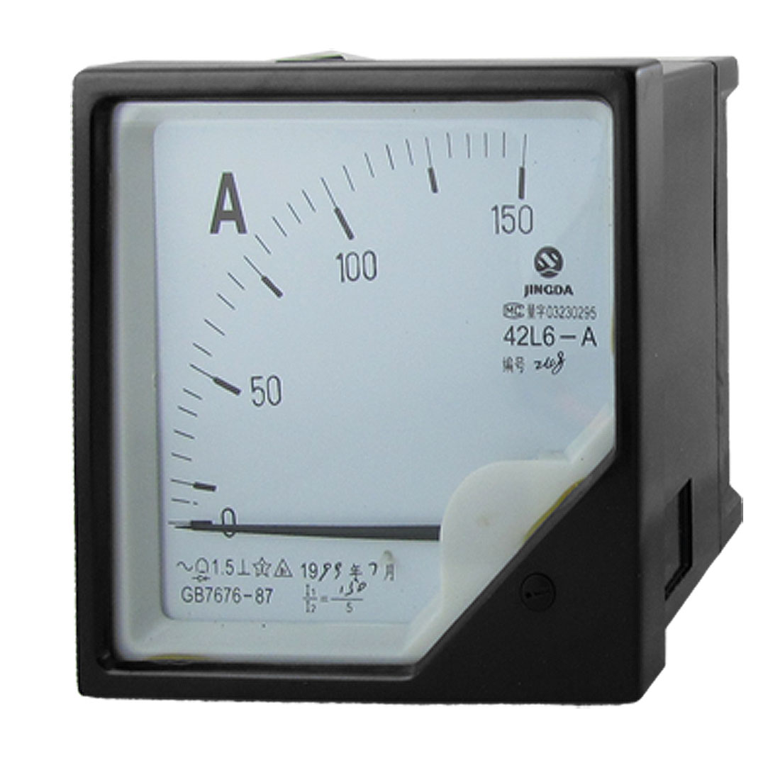 AC 0-150A 1.5 Accuracy Analog Panel Ampere Meter Gauge 42L6