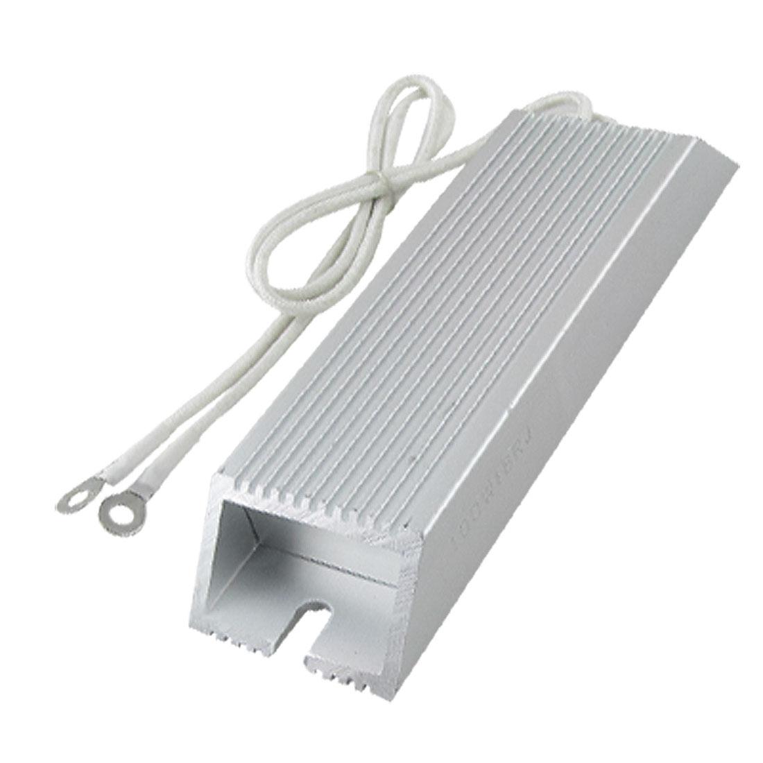 Aluminum Housing Wirewound Braking Resistor 100W 18 ohm