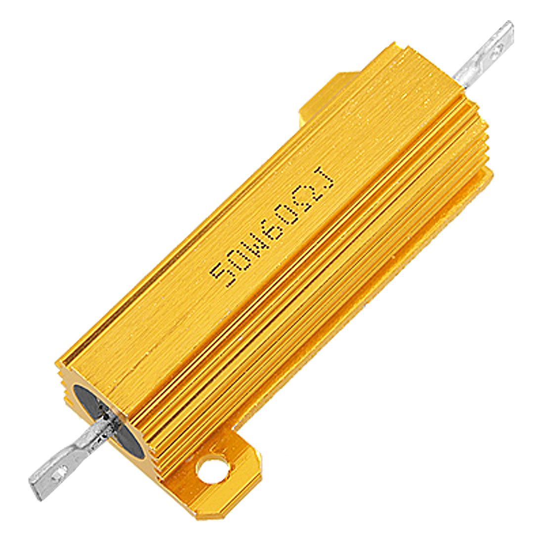Chassis Mount Wirewound Aluminum Case Power Resistor 60 0hm 5% 50W