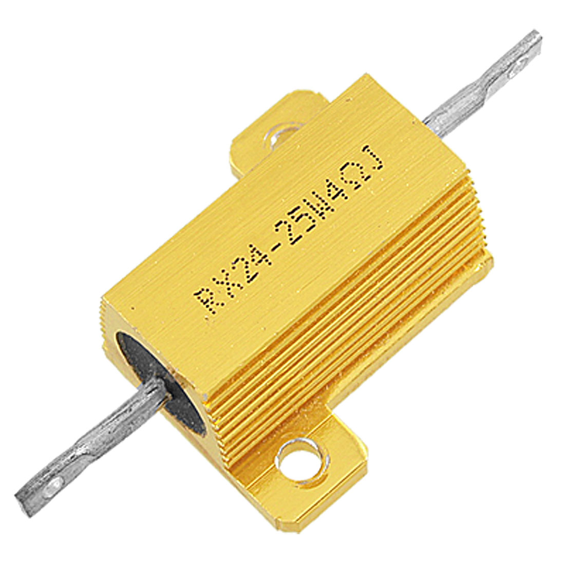 25 Watt Power Chasis Mounted Aluminum Housed Wirewound Resistor 4 Ohm