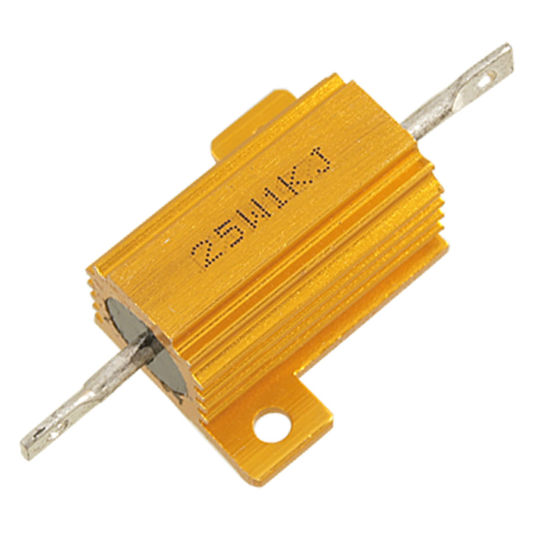 25W 1K Ohm 5% Chassis Mounted Aluminum Housed Wirewound Resistor
