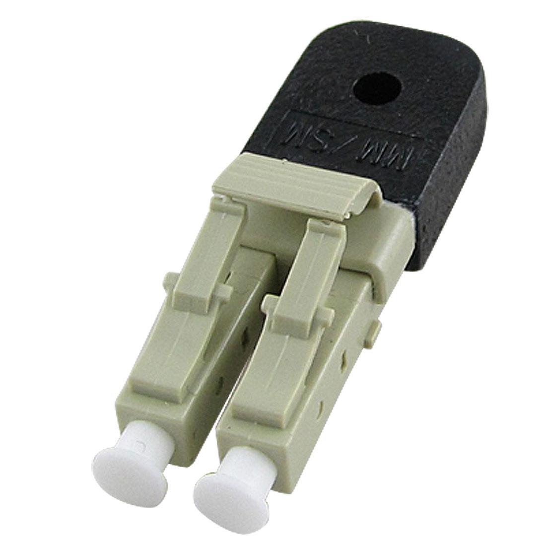 LAN WAN CATV LC Multimode Fiber Optic Lookback Adapter