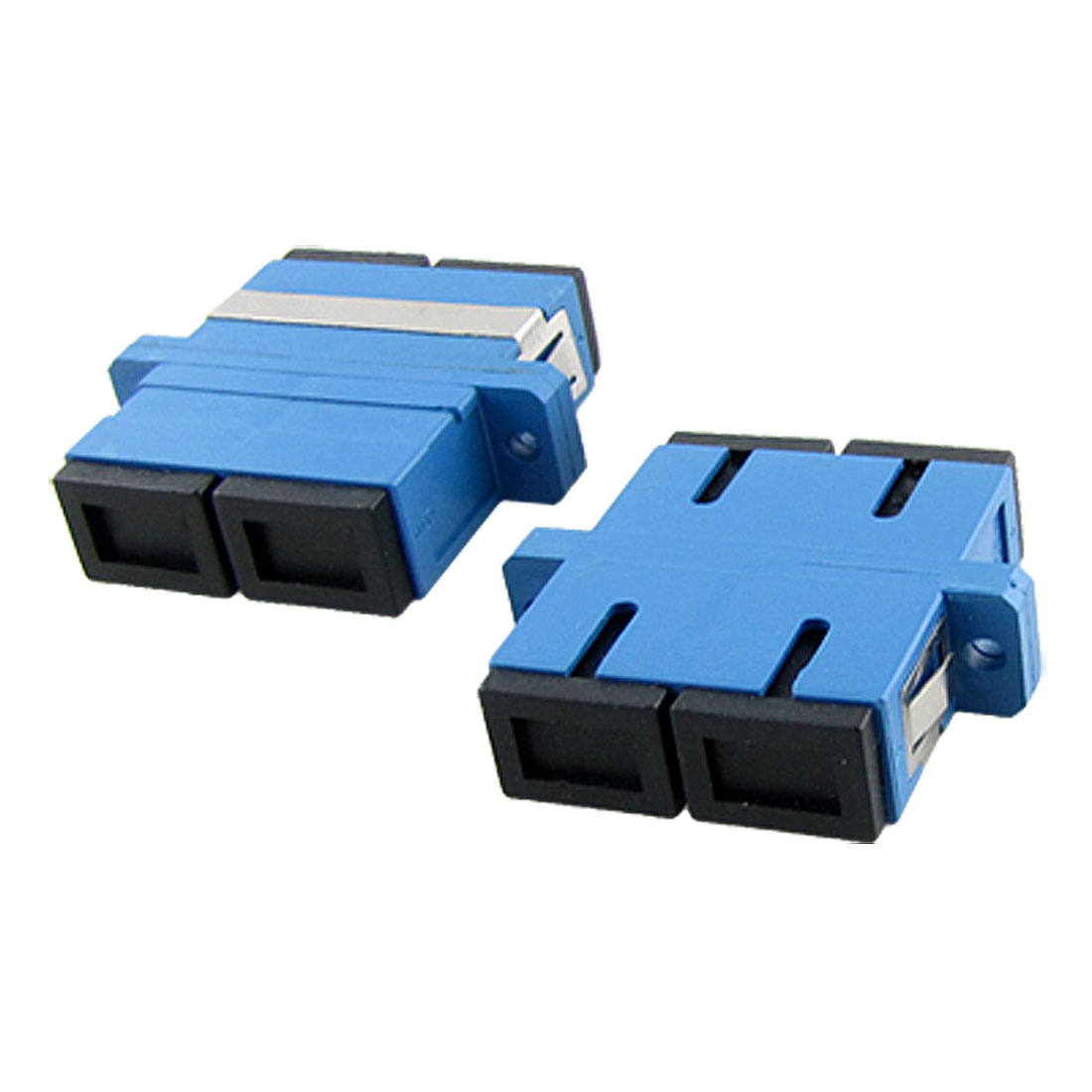 Duplex Single Mode SC PC Optic Fiber Adapter 5 Pcs