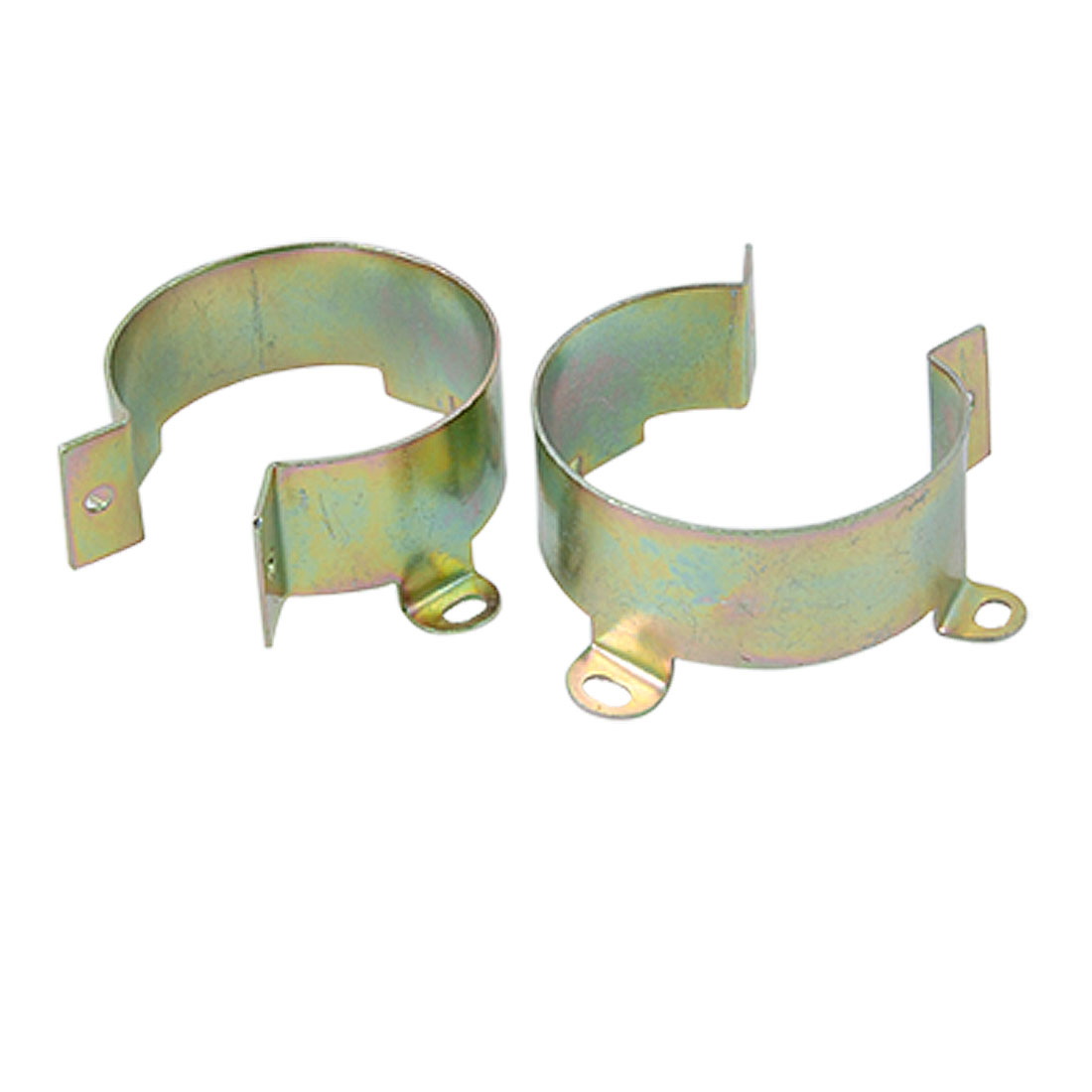 2 Pcs 55mm Inner Diameter Capacitor Metal Clamps Holder Mount Brackets