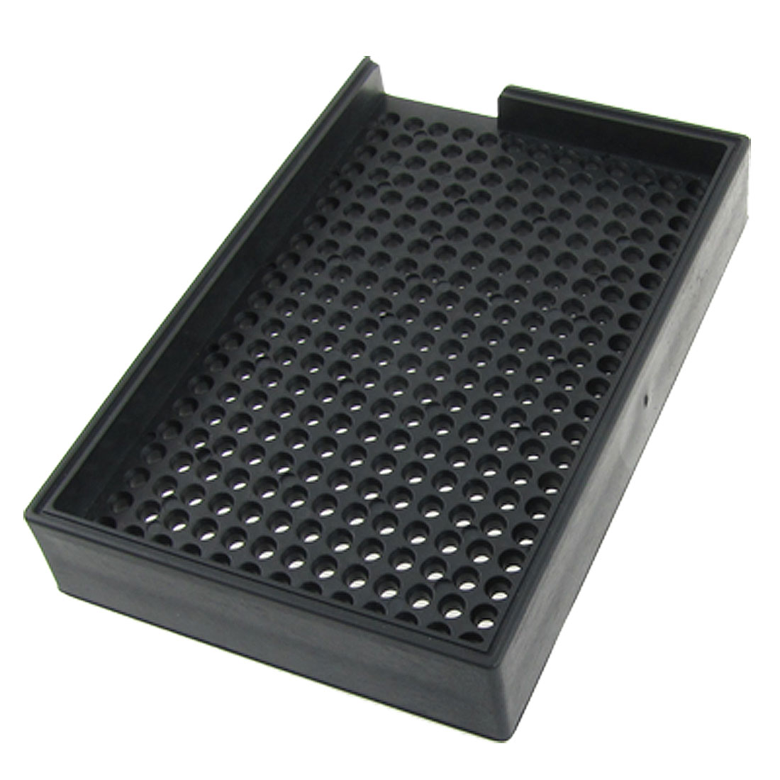 Replacement 2.5mm-3.0mm Antistatic Plastic Screw Tray Holder Black