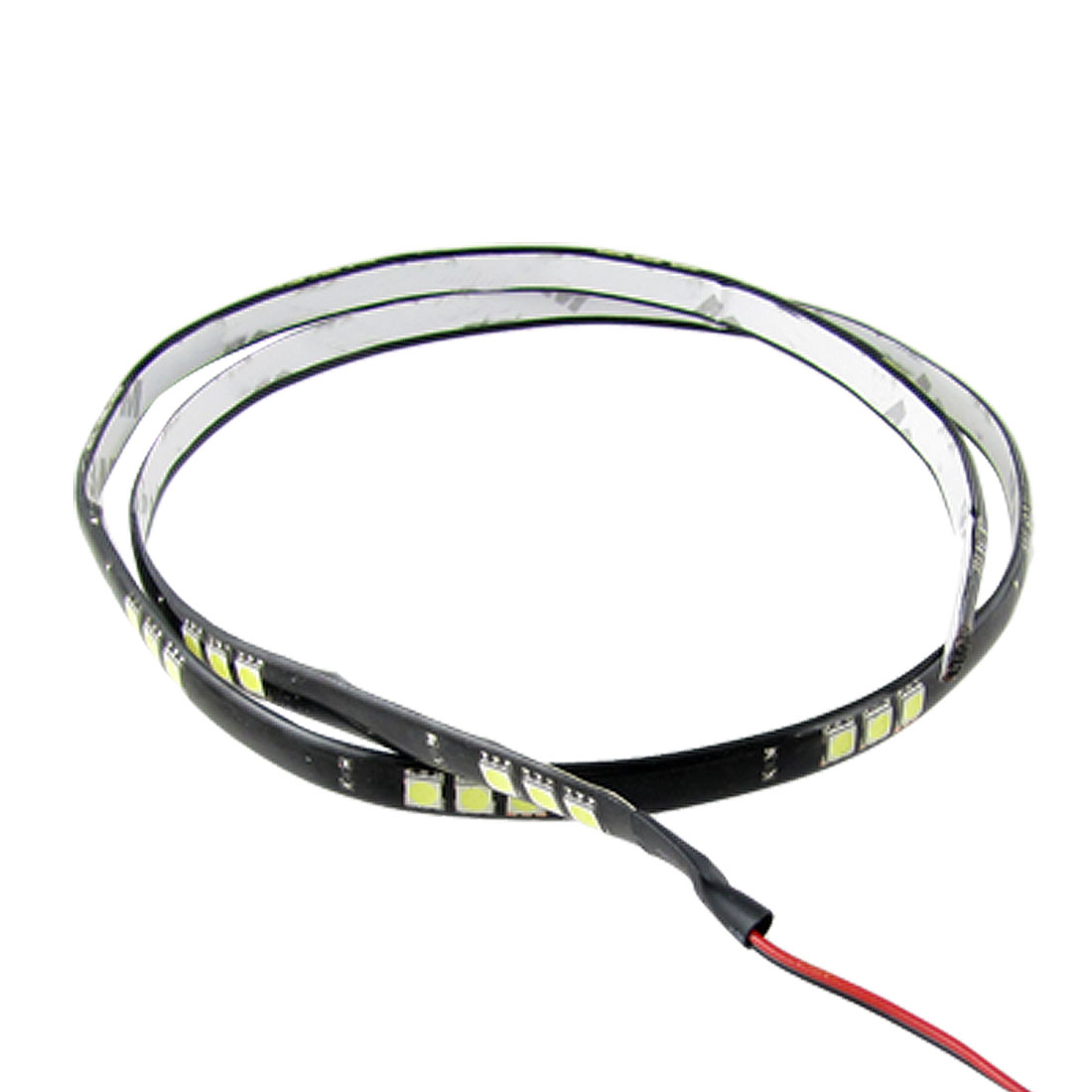 Vehicle Car 90CM 5050 SMD Bulbs White 45 LED Light Strip DC 12V