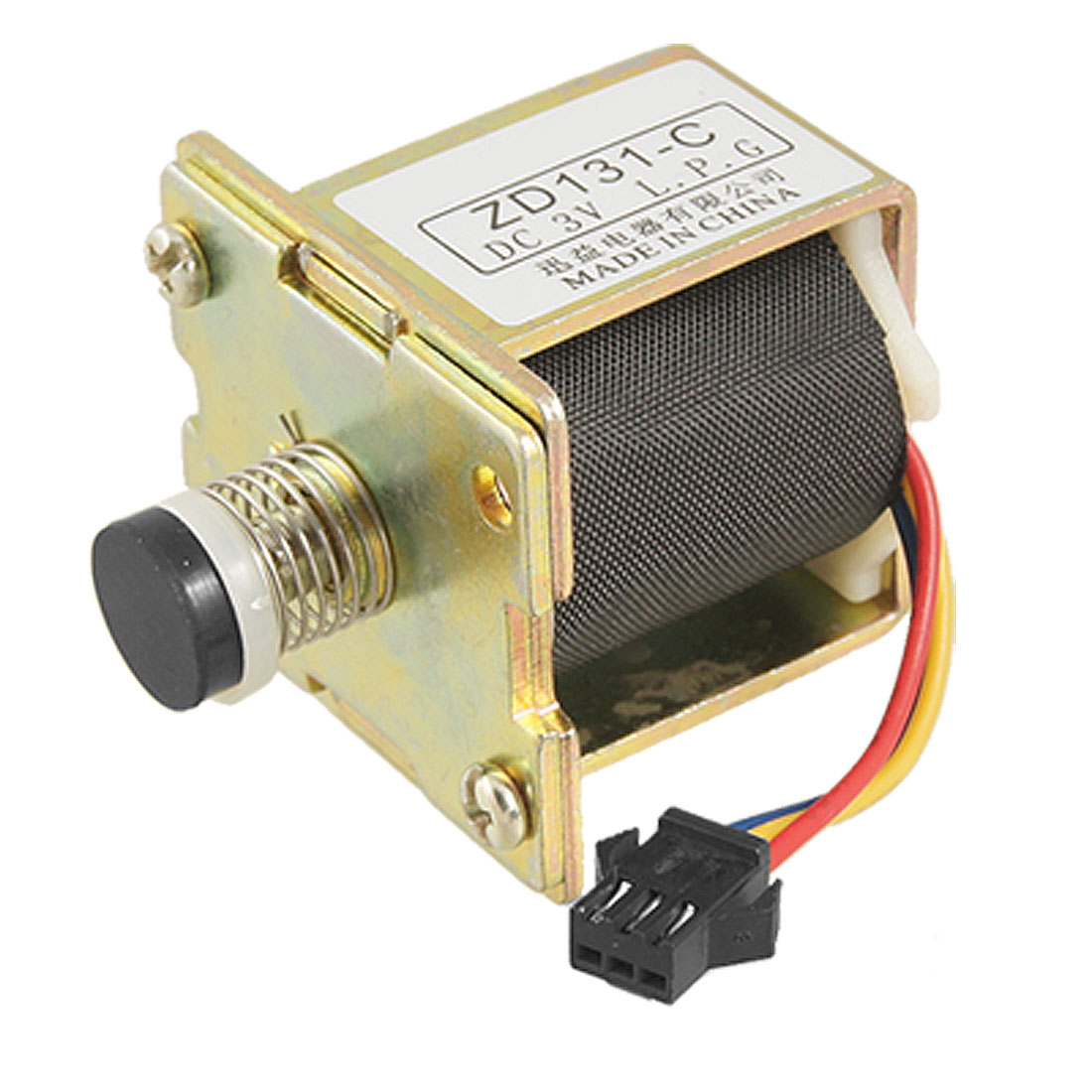 DC 3V ZD 131-c Solenoid Valve for fuel Gas Fast Water Heater