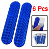 Vehicle Car Blue Light Plastic Reflective Stickers 3 Pairs